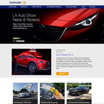 AutoTrader - Auto Shows